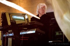 Konzertfoto Edgar Froese, Tangerine Dream